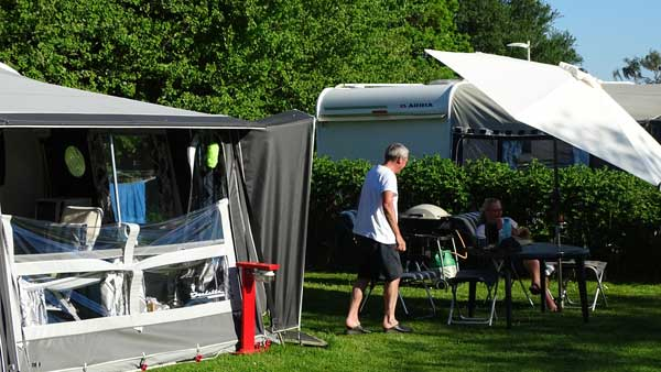 Pitches with peace and quiet is where you can relax and enjoy a perfect time at Horsens City Camping