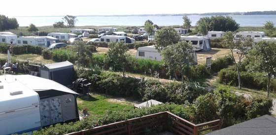 Camping holidays in your own caravan in Horsens is the perfect family holiday