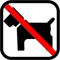 Dogs are not allowed in our mobilehomes