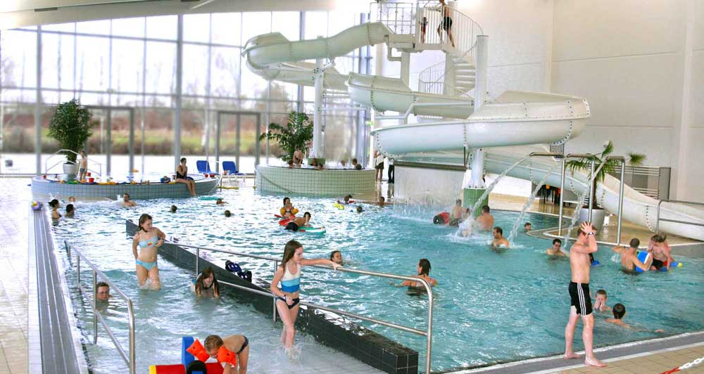 Large play pool in Horsens Aqua Forum - fun for all