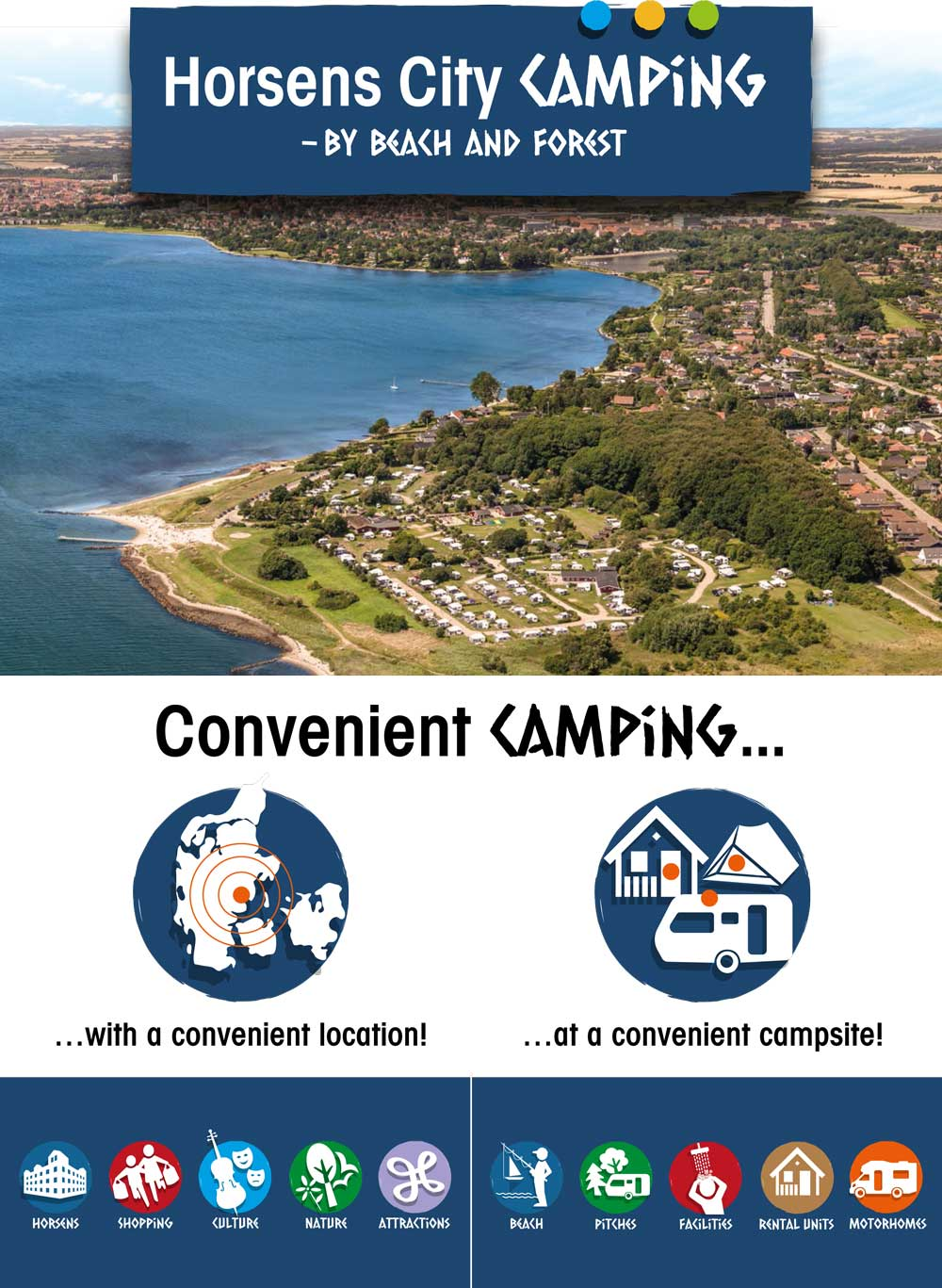 Brochures for Horsens City Camping